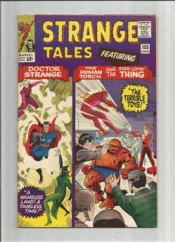 STRANGE-TALES-133-Silver-Age-Grade-70-Find-With-Classic-Kirby-Cover-Art-301740767196