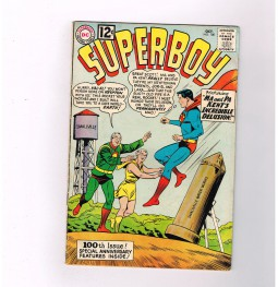 SUPERBOY-v1-100-Milestone-Silver-Age-issue-from-DC-Comics-301336418745