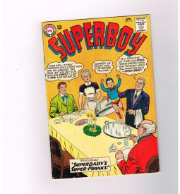SUPERBOY-v1-112-Grade-65-Silver-Age-The-Boy-Who-Replaced-Clark-Kent-291257270618