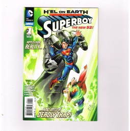 SUPERBOY-v5-0-22-Wonderful-Modern-Age-run-presented-by-DC-Annual-1-NM-291367355748