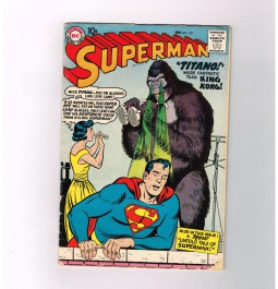 SUPERMAN-V1-127-Grade-50-Silver-Age-DC-When-There-Was-No-Clark-Kent-301750739377