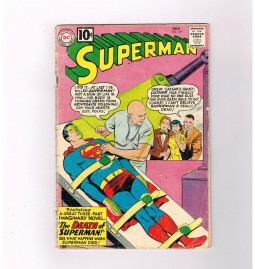 SUPERMAN-V1-149-Silver-Age-DC-classic-1st-death-of-Superman-291574004254