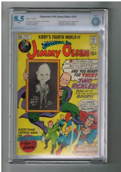 SUPERMANS-PAL-JIMMY-OLSEN-139-CBCS-Grade-85-Bronze-Age-DC-Jack-Kirby-cover-301663329927