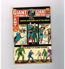 SUPERMANS-PAL-JIMMY-OLSEN-140-Grade-85-Bronze-Age-64-page-giant-from-DC-301753337140