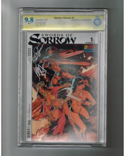 SWORDS-OF-SORROW-1-CBCS-98-Ltd-to-500-cover-SIGNED-by-Gail-Simone-Pete-Woods-301677963109