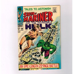TALES-TO-ASTONISH-100-Silver-Age-milestone-issue-Grade-70-Marvel-find-291579051064