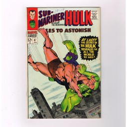 TALES-TO-ASTONISH-87-The-Humanoid-the-Hero-Grade-80-Silver-Age-Marvel-291579039880
