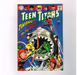 TEEN-TITANS-v1-11-Grade-70-Silver-Age-DC-Gorgeous-Nick-Cardy-cover-art-301756353506