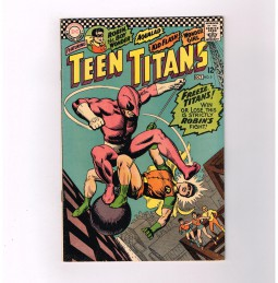 TEEN-TITANS-v1-5-Grade-65-Silver-Age-DC-find-guest-starring-The-Ant-291579114906