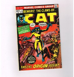 THE-CAT-1-Super-Bronze-Age-find-from-Marvel-Comics-Grade-60-301777347377