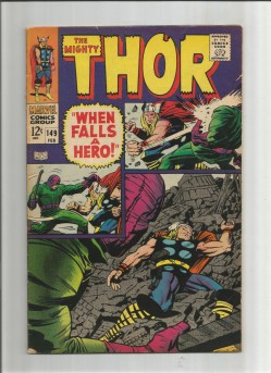 THOR-149-Grade-75-Silver-Age-find-from-Marvel-Comics-301754280995