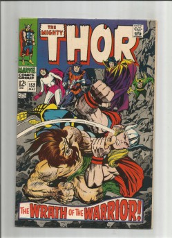 THOR-152-Loki-battles-Thor-in-this-grade-80-Silver-Age-find-291577224987