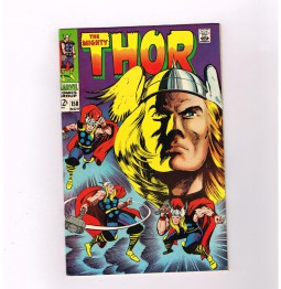 THOR-158-Grade-80-Silver-Age-Marvel-find-w-iconic-Kirby-cover-art-291586555694