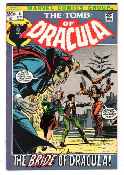 TOMB-OF-DRACULA-4-Bronze-Age-Grade-80-Featuring-the-Bride-of-Dracula-301417307289