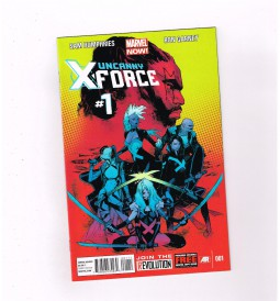UNCANNY-X-FORCE-v2-1-12-Great-Modern-Age-run-from-Marvel-All-1st-print-NM-291182016795