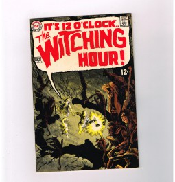 WITCHING-HOUR-3-Grade-75-Silver-Age-horror-from-DC-Comics-291590245004