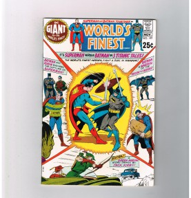 WORLDS-FINEST-197-Grade-85-Bronze-Age-1970-DC-Giant-301716168481