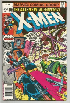 X-MEN-110-Bronze-Age-Grade-80-Chris-Claremont-Dave-Cockrum-Vs-Warhawk-301802871832