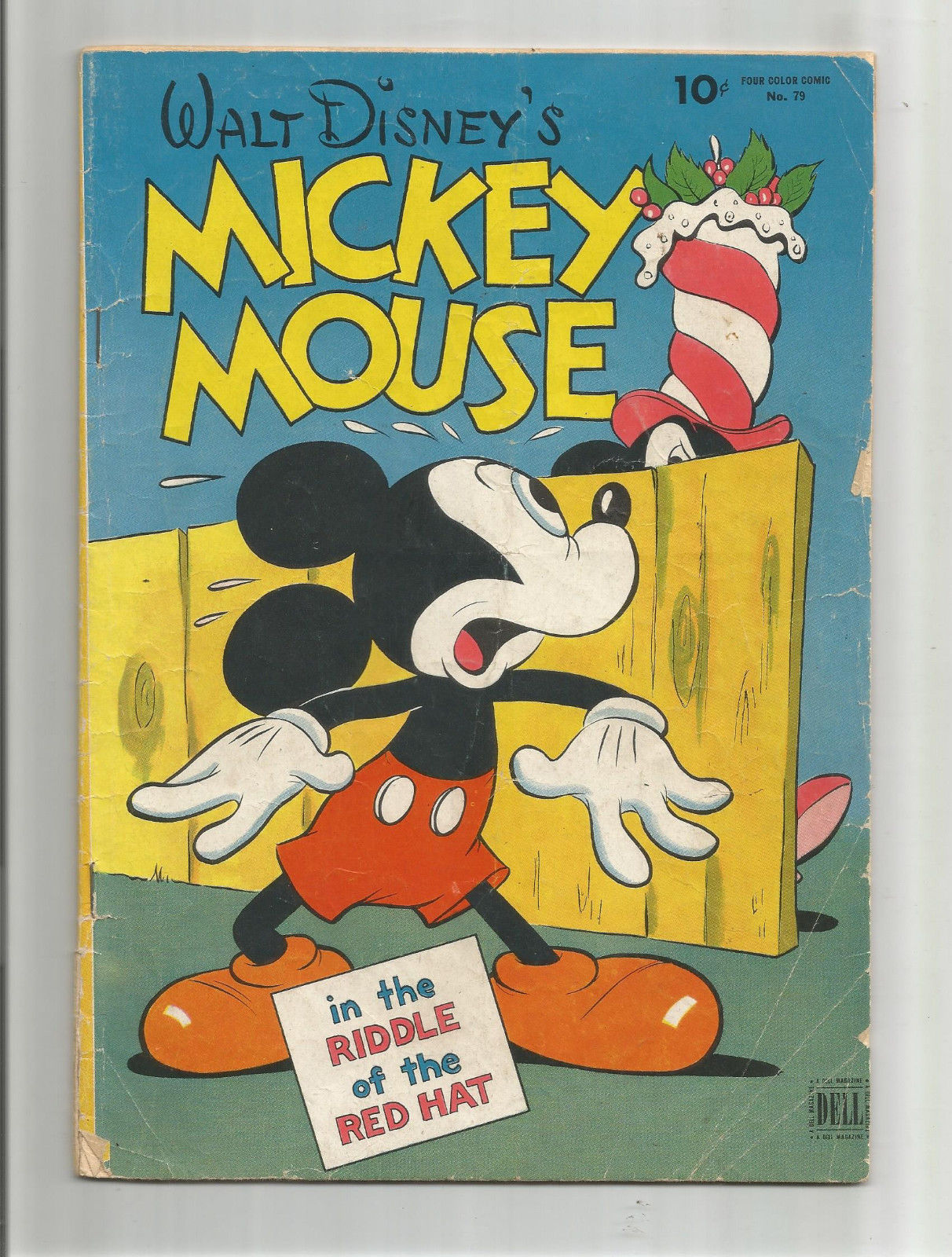 FOUR COLOR COMIC #79: Gold Age Grade 4.0 Featuring Mickey Mouse ...